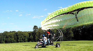 Sunflightcraft Paraplanes Airchopper Rotax Coax P